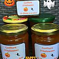 Confiture citrouille orange