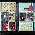 { project life 2013 } - page de garde et semaines 1 et 2