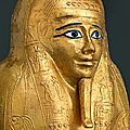 Met museum acquires ancient egyptian gilded coffin
