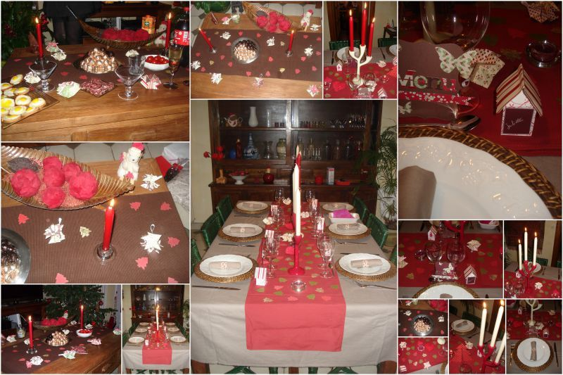Decoration table reveillon noel exactjuristen - Deco table reveillon ...