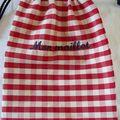 Mon maillot rouge bleu