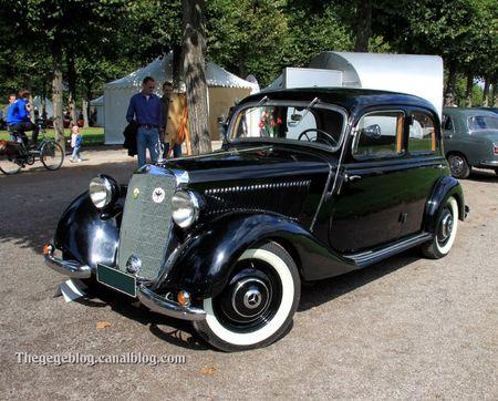 Mercedes 170 berline de 1950 (9ème Classic Gala de Schwetzingen 2011) 01