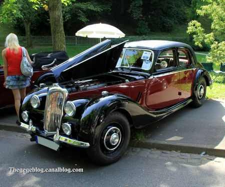 Riley 2 1-2L Saloon RMB de 1951 (34ème Internationales Oldtimer meeting de Baden-Baden) 01