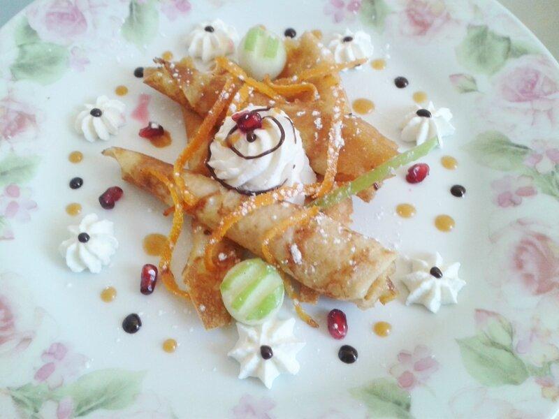 crêpe special chandeleur, crêpe suzette révisité par le chef custos