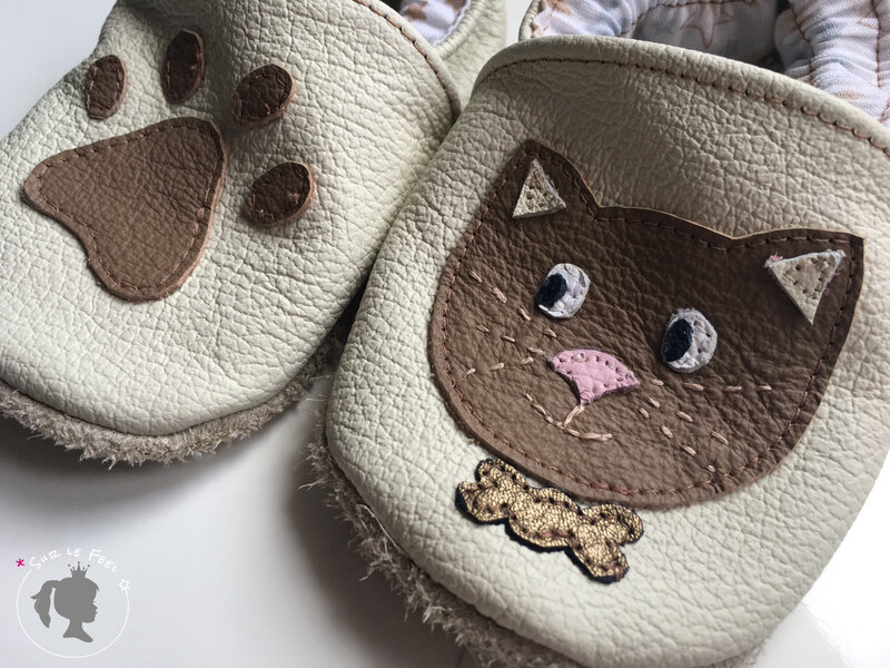 Chaussons Chat 5
