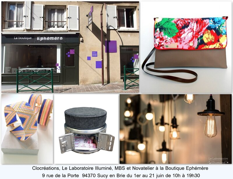Boutique éphémère Sucy 1 au 21juin 2015