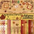kit Automne sweetness freebies