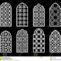 Génie arabe de la belle forme et l'esthétique sacrée : fenêtres et moucharabieh (مشربية