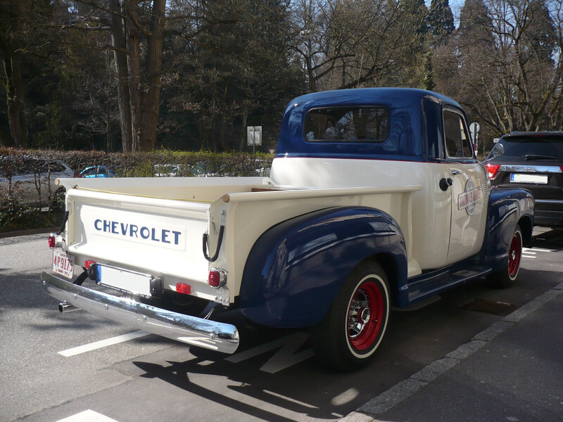 CHEVROLET 3100 Thriftmaster 2door pick-up Baden Baden (2)