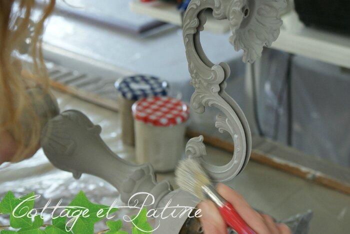 Formation professionnelle Cottage et Patine à l'atelier (57)