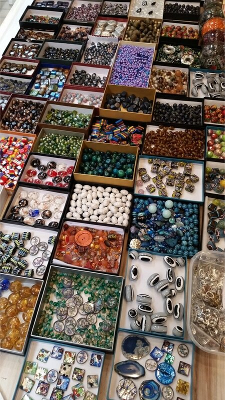 lot perles