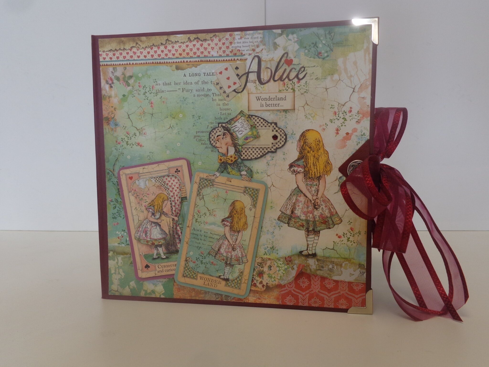 "Album ""Alice"" Stamperia"