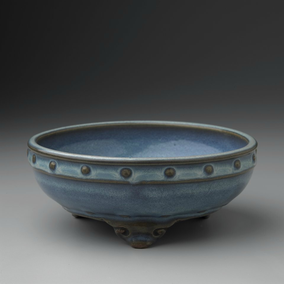 Narcissus Bowl, Jun ware, Song dynasty (960-1127)
