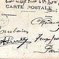 Caen,quartier Claude Decaen, groupe territorial du 43e RAC Pierre Albert Pinet correspondance
