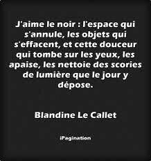 Citation Blandine le Callet