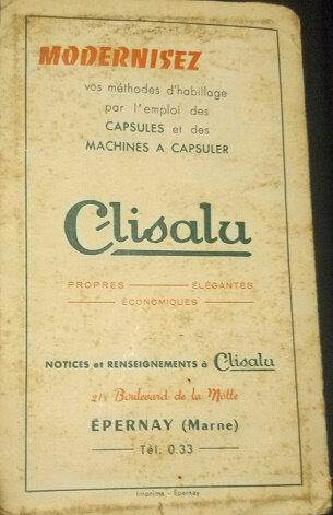 machine à capsuler Clisalu Epernay