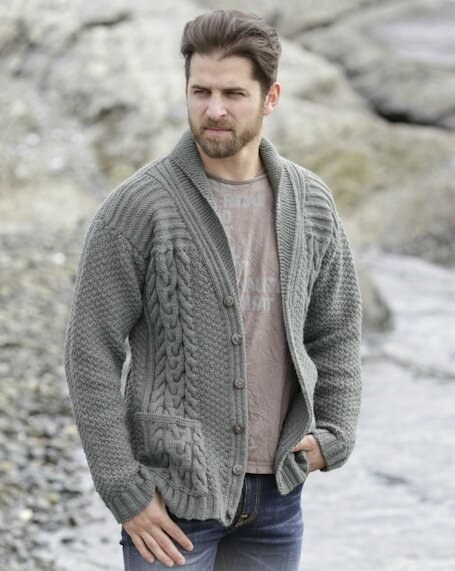 cardigan homme tricot