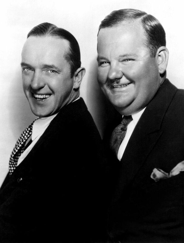 LAUREL AND HARDY SERIOUS