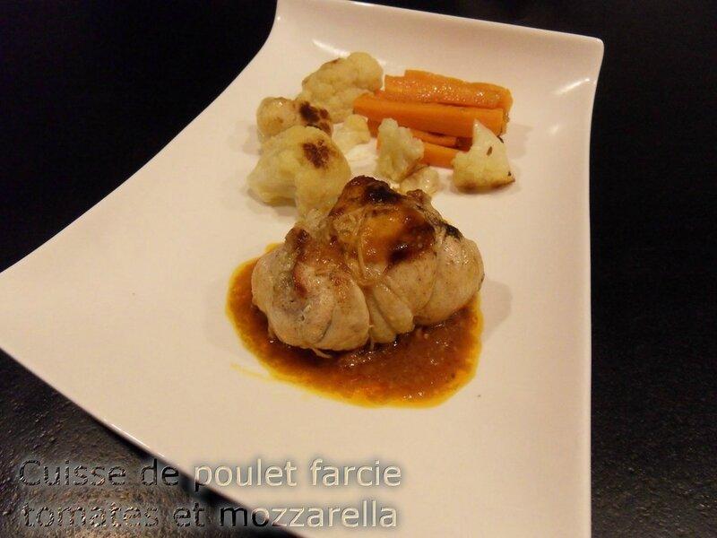cuisses de poulet farcies au tomates et mozzarella1