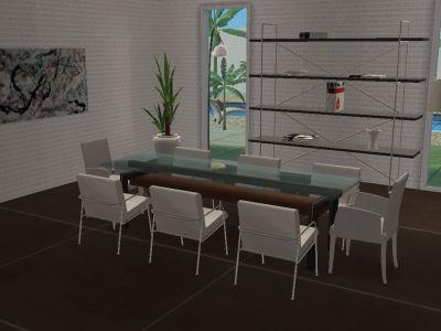 Salle manger contemporaine toutes les bonnes adresses pour votre d coration sims - Deco salle a manger contemporaine ...