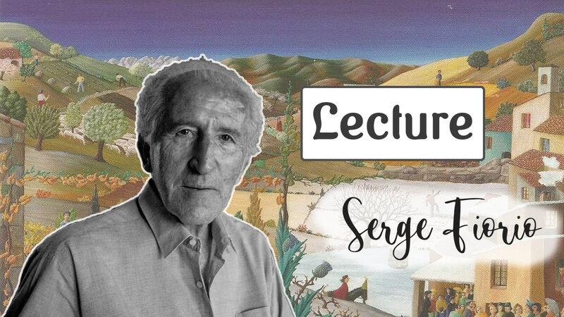 Lecture d'un texte de Pierre Magnan.