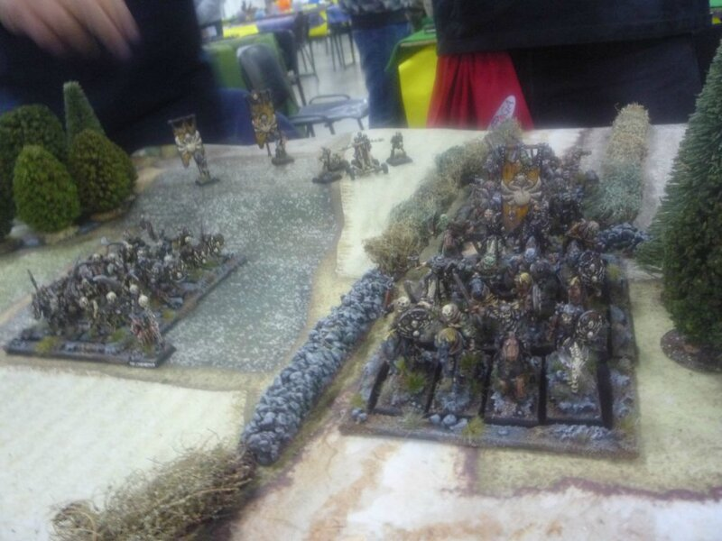The awesome undead army, lead by two awesome players