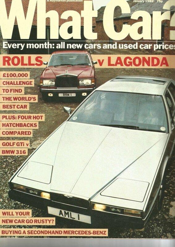 What Car Spirit Lagonda