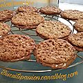 Biscuits aux flocons d'avoine 036