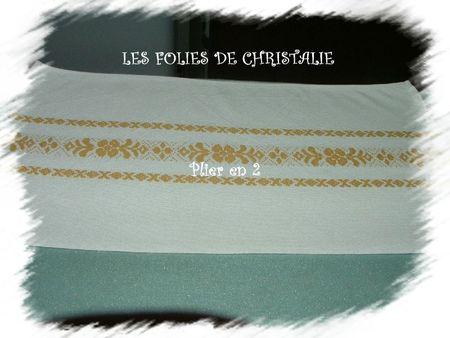 Pliage de serviette 2