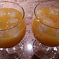 Punch des 45 (mangue et orange)