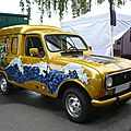 Renault 4 f4 just damned fourgonnette avat'art