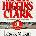 Loves music, loves to dance, mary higgins clark