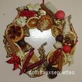 COURONNE POT POURRI