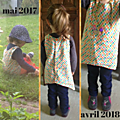 Un vêtement qui grandit avec l'enfant [samedi mode]