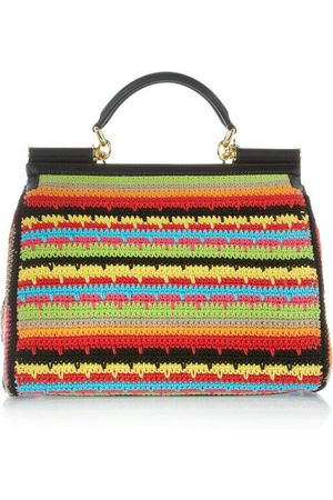 Crochet-multicolor-wallet-Dolce-Gabbana-2