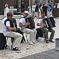 Dans les rues de Cracovie