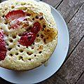 Pancakes à la fraise