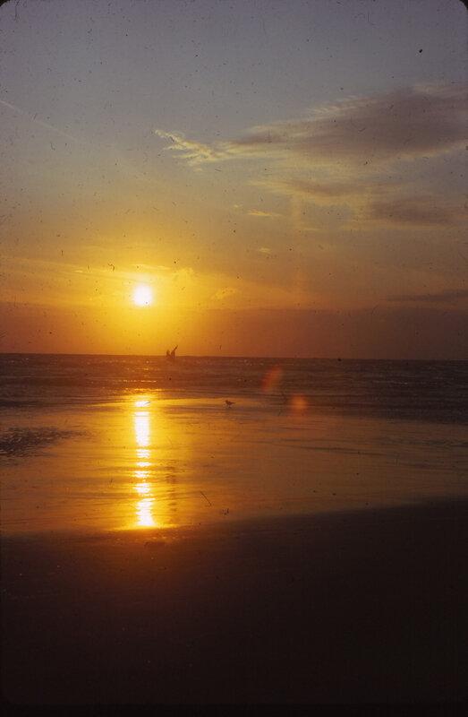 D 74 juillet Vacances à Berck 21 Coucher de soleil