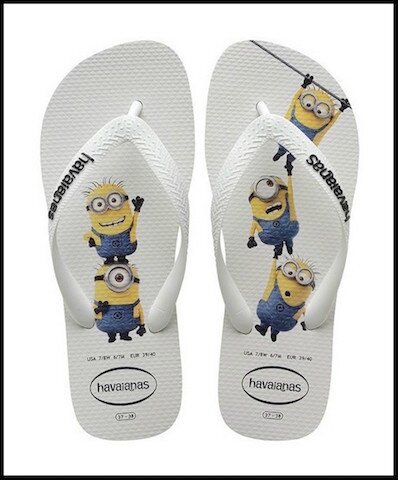 e00cc4d50cd Tongs brésiliennes Minions - Havaianas - Le Blog de Moon