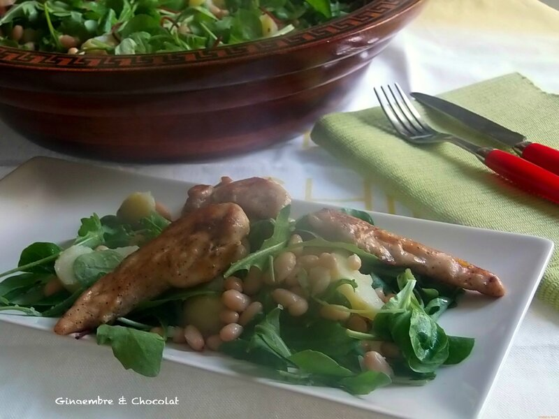 saladeharicotpoulet