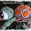 Squiz la tortue dans le monde de nemo