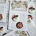 Boutons en fleurs Marimerveille. Carte TBC B12 2