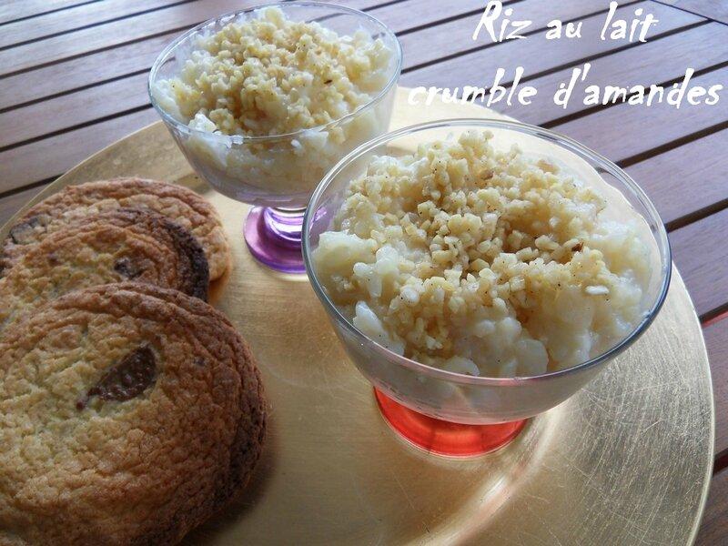 riz au lait crumble d'amandes1