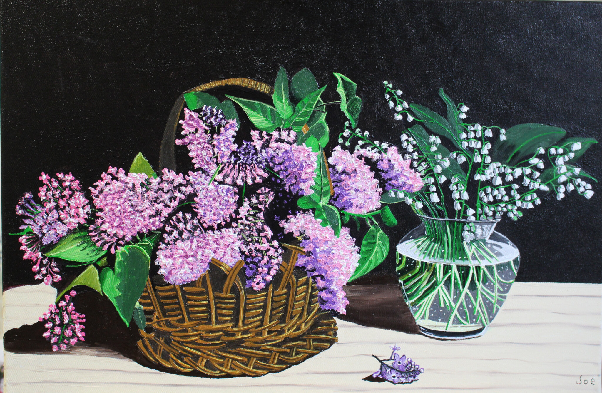 Lily of the valley and lilac,