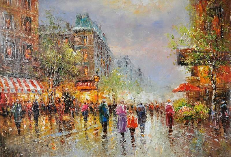 Oil_Paintings_Paris_Street_Scenes_On_Canvas