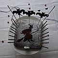 L'anniversaire de ma sorcière {un gâteau inratable et des chauves-souris au plafond}