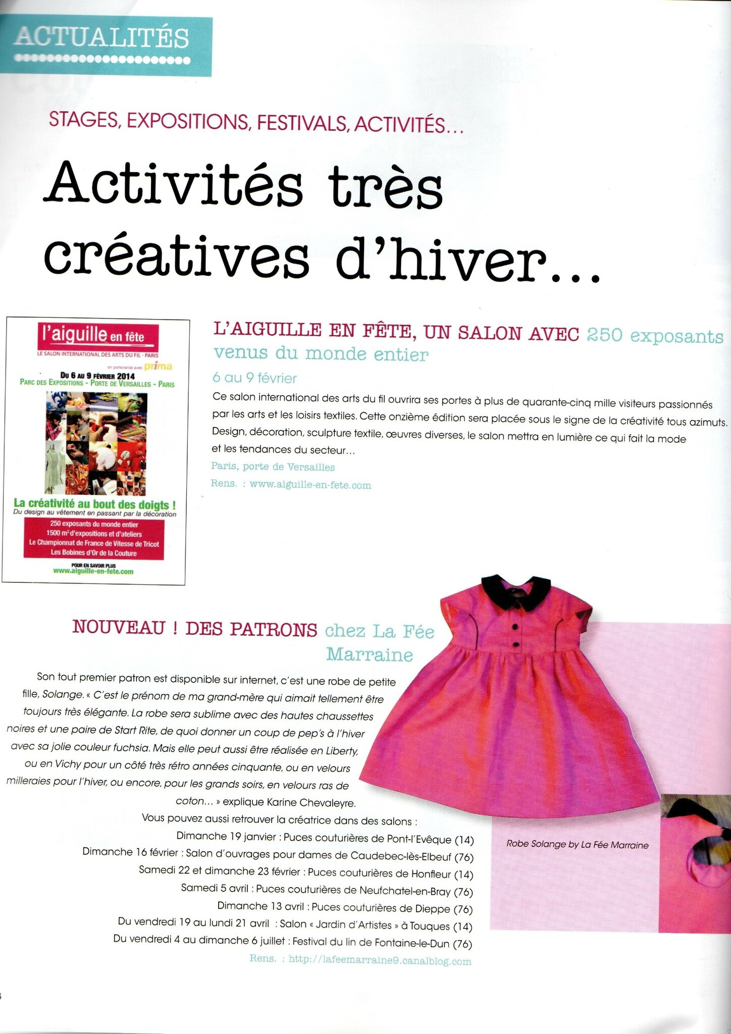 Passion Couture Créative n°3 - Page 6