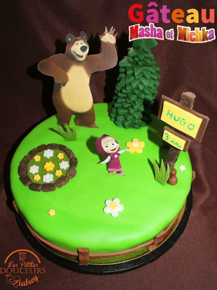 Gâteau Masha Et Michka En Pas Les Petites Douceurs D Audrey