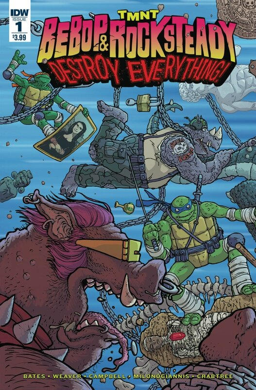 IDW TMNT bebop & rocksteady destroy everything 01
