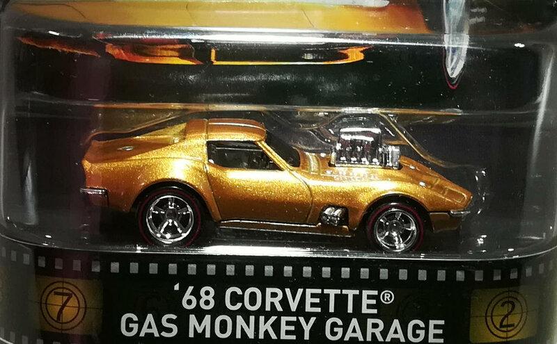 Chevrolet Corvette de 1968 (Gaz Monkey Garage) Hotwheels 01